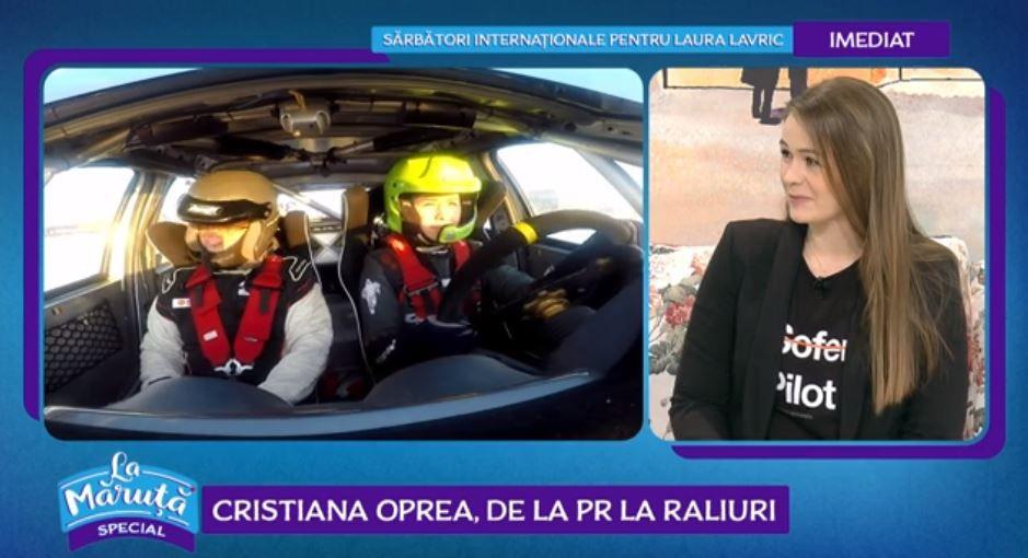 VIDEOCristiana Oprea, povestea unei fete pilot