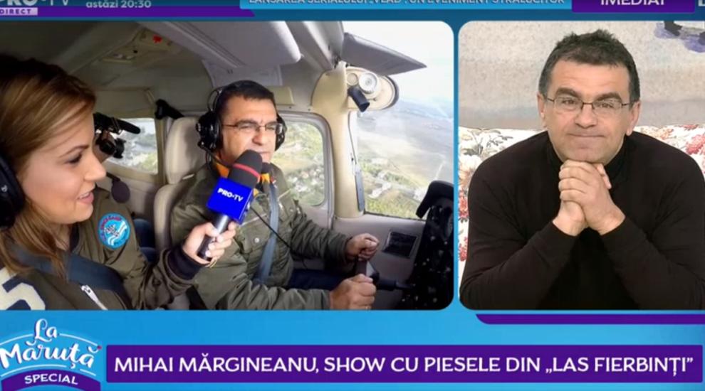 """Mihai Mărgineanu, show cu piesele din """"Las Fierbinți"""""""