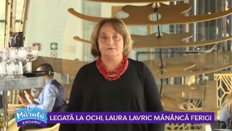 VIDEO O nouă provocare culinară pentru Laura Lavric