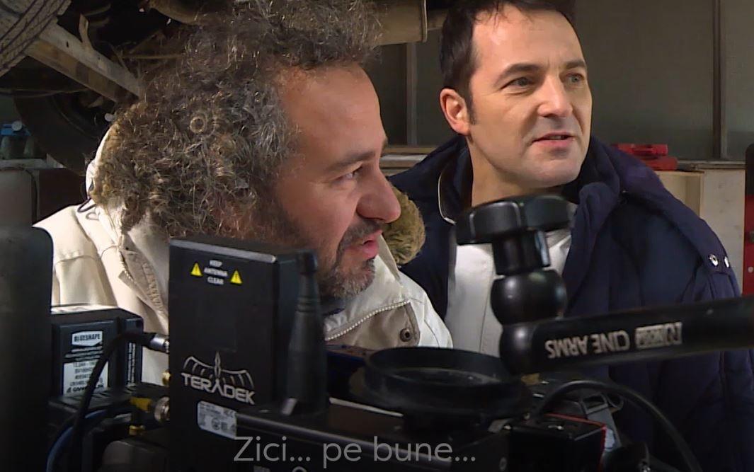 """Imagini exclusive din culisele serialului VLAD. """"Cred că am descoperit cu toții un nou București"""""""