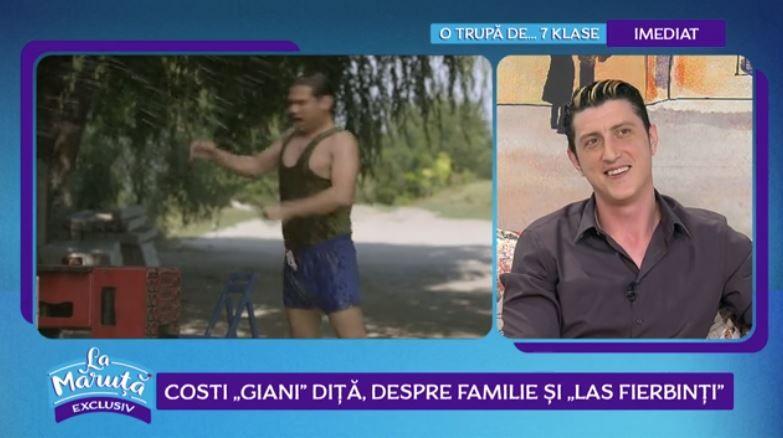 """VIDEO Costi """"Giani Diță"""", despre familie și """"Las Fierbinți"""""""