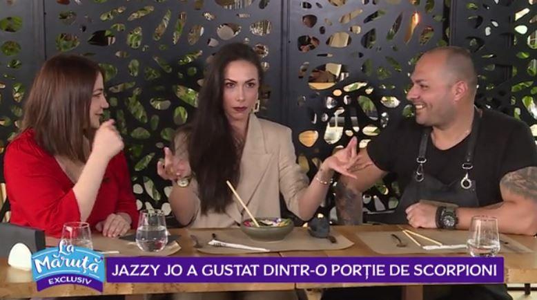 VIDEO O nouă provocare culinară pentru Jazzy Jo