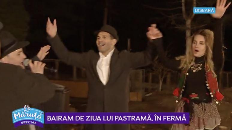 VIDEO Bairam de ziua lui Pastramă în Ferma