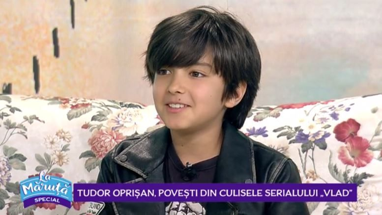 """VIDEO Tudor Oprișan, povești din culisele serialului """"Vlad"""""""