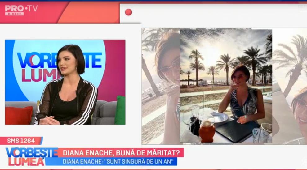 VIDEO Diana Enache, bună de măritat?
