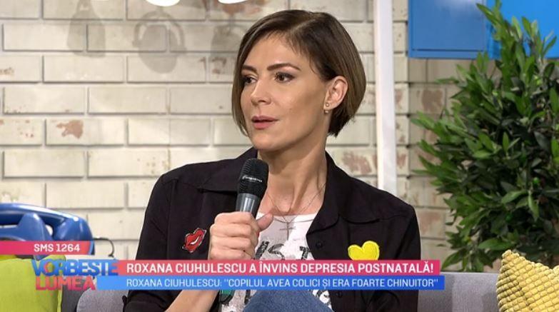 VIDEO Roxana Ciuhulescu, despre depresia postnatală