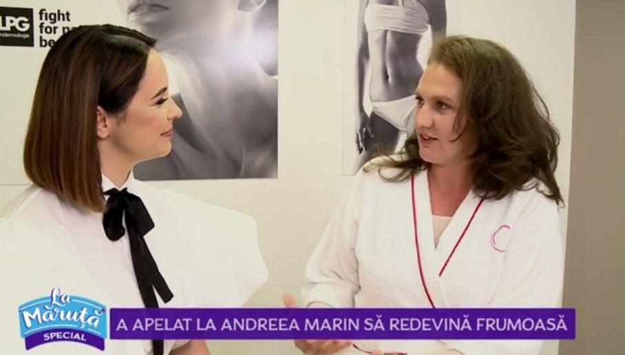 """Andreea Marin, surpriză pentru o participantă din cadrul campaniei """"Nu există nu se poate"""""""