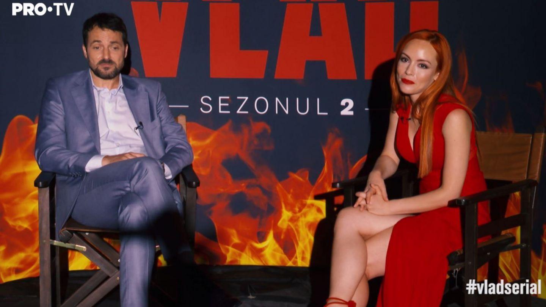 """Olimpia Melinte, dezvăluiri din VLAD sezonul 2: """"Eliza și Vlad ajung într-o cameră de hotel"""""""