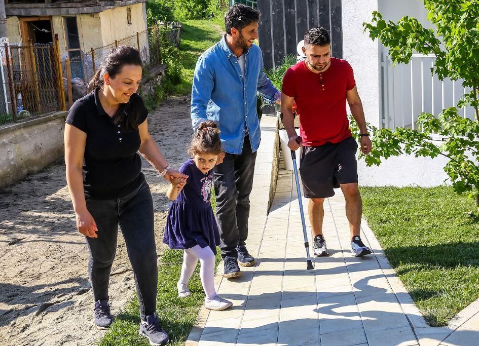 Lacrimile de bucurie ale familiei Ciobănică au emoționat aseară peste 1.5 milioane de oameni