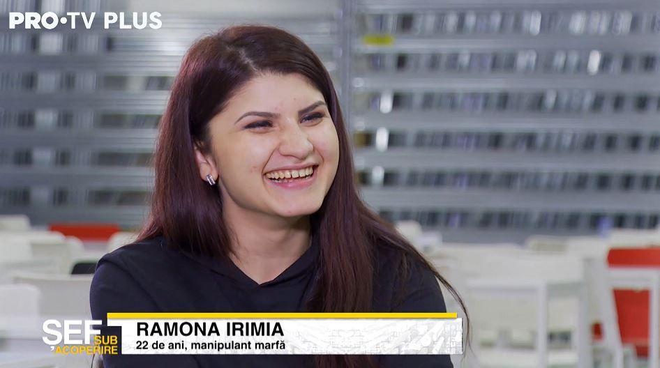 """Tânăra angajată Ramona e surprinsă de """"viteza"""" cu care lucrează șeful sub acoperire"""
