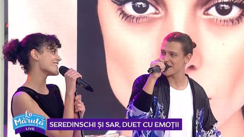 VIDEO Diana Sar și Seredinschi, duet de excepție