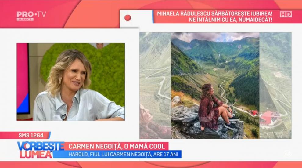 VIDEO Carmen Negoiță, o mamă cool. Copii mei îmi povestesc totul