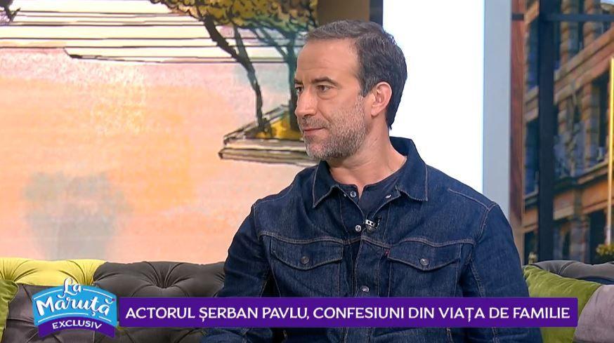 Actorul Șerban Pavlu, despre rolul din serialul VLAD și confesiuni din viața de familie