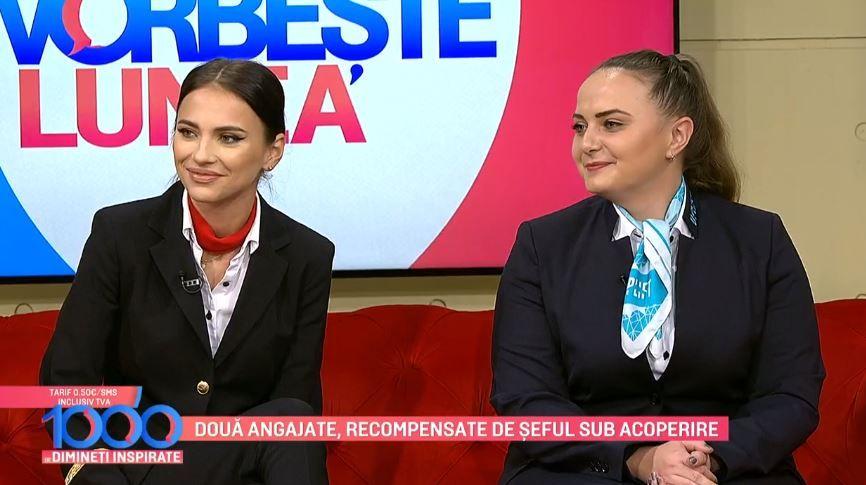 Alexandra Drăgan și Roberta Dunărințu, despre experiența de la Șef sub acoperire