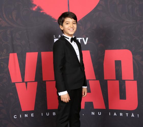 VIDEO Cel mai tânăr personaj din VLAD, Matei, pregătit de un film istoric