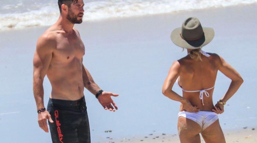 El arată ca un zeu, dar nici soția lui nu e mai prejos. Partenera lui Chris Hemsworth este spectaculoasă