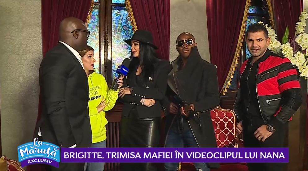 VIDEO Brigitte Pastramă, trimisa mafiei în videoclipul lui Nana