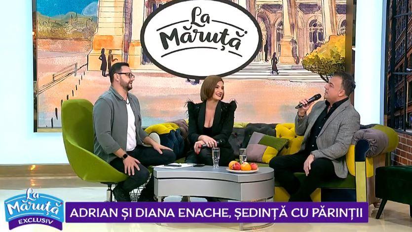 """VIDEO Adrian Enache și fiica lui, Diana Enache, la """"ședința cu părinții"""""""