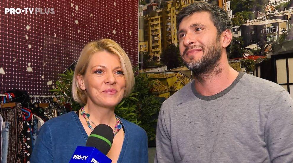 Primul interviu cu Dragoș Bucur și Dana Nălbaru în pragul sărbătorilor. Ce mesaj are prezentatorul Visuri la Cheie