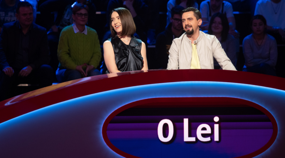 Amalia Năstase și Cosmin Natanticu au câștigat Pe Bune?! Quiz show-ul a fost lider de audiență