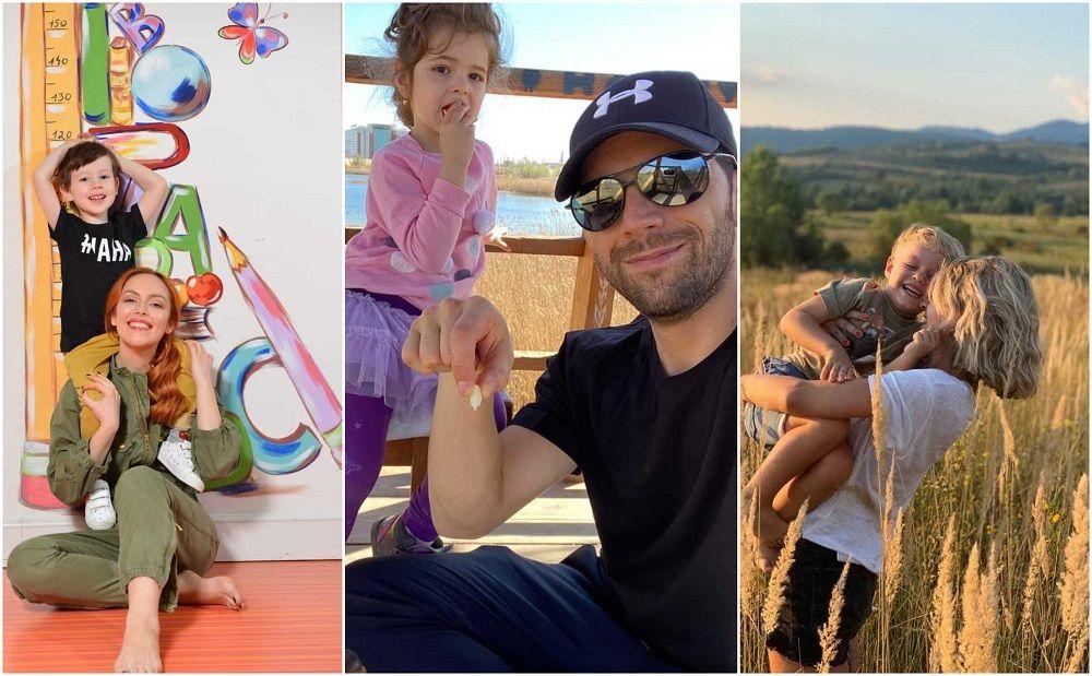 Olimpia Melinte, Adi Nartea și Victoria Răileanu, despre activitățile pe care le fac cu copiii lor în această perioadă