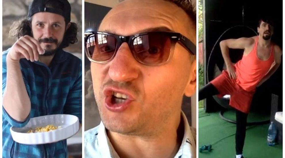TETELU şi super-invitaţii săi, Costel și Natanticu, într-un show de excepție în primul episod