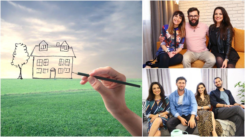 Cum ar arăta casa ideală pentru arhitecții Visuri la cheie! VIDEO