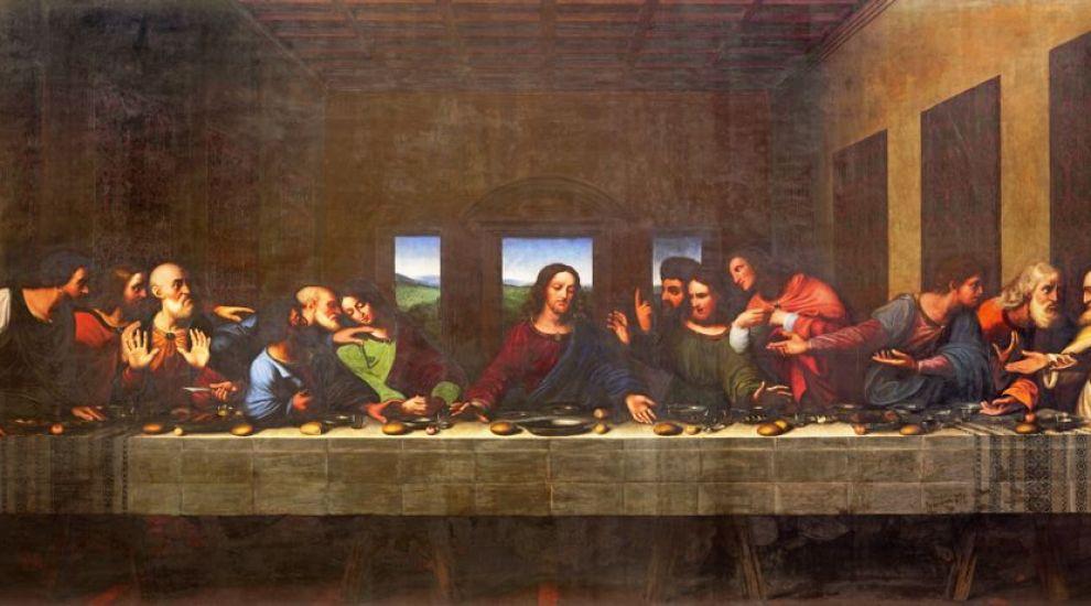 """Mesajul secret din tabloul """"Cina cea de Taină"""" al lui Leonardo Da Vinci"""