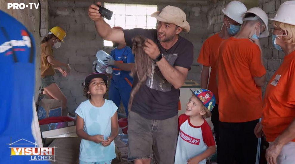 VIDEO Copiii lui Dragoș Bucur, apariție surprinzătoare la Visuri la cheie. Ce misiune au avut Kadri și Roxana