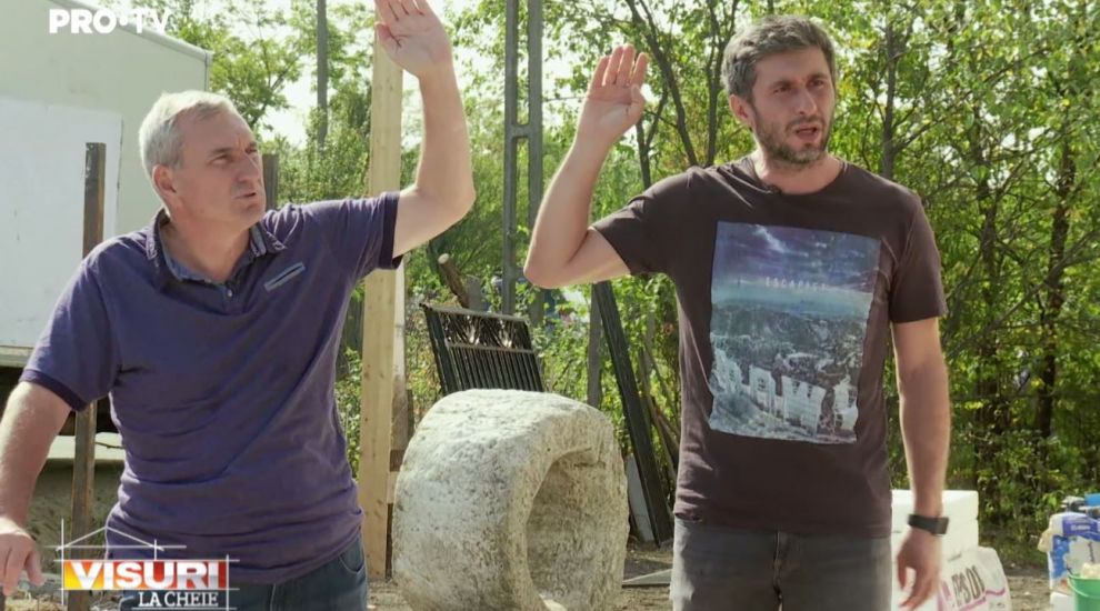 """VIDEO Dragoș Bucur, panicat la Visuri la cheie: """"Să știți că amânăm predarea"""""""