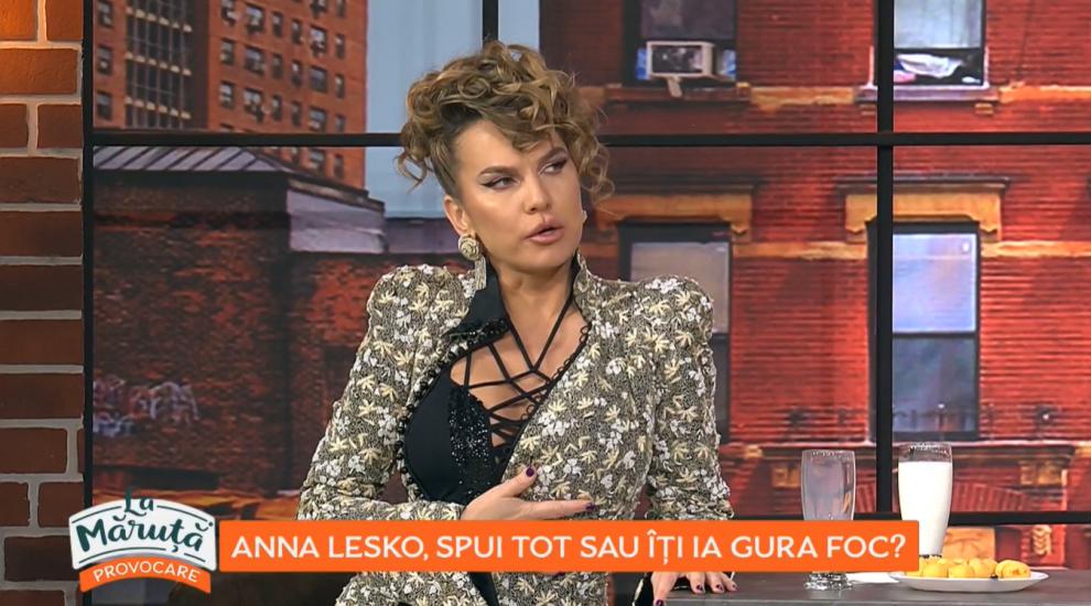 Anna Lesko, spui tot sau îți ia gura foc? Cum s-a descurcat cântăreața la provocarea lui Cătălin Măruță