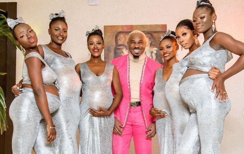 Un nigerian a mers la nunta prietenului său cu șase femei însărcinate, susținând că el este tatăl copiilor