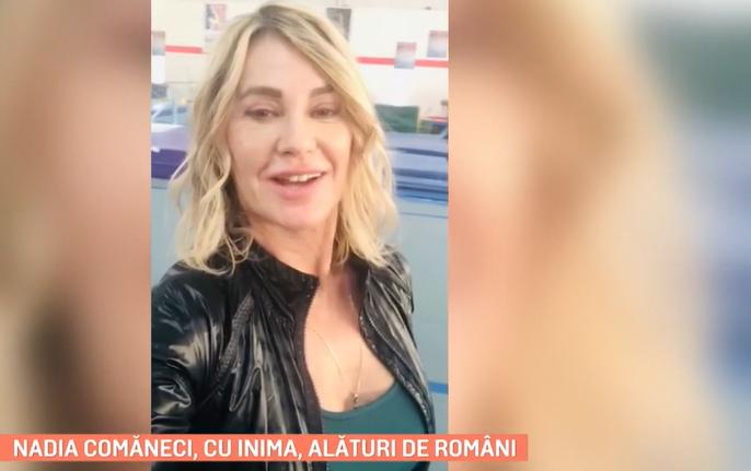 Nadia Comăneci, cu inima, alături de români! Ce mesaj le-a transmis cea mai mare gimnastă a lumii