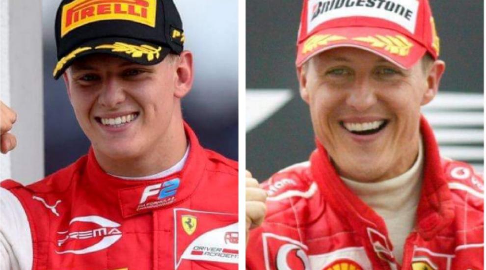Cât de bine seamănă Mick Schumacher cu tatăl său! Tânărul calcă pe urmele legendarului pilot