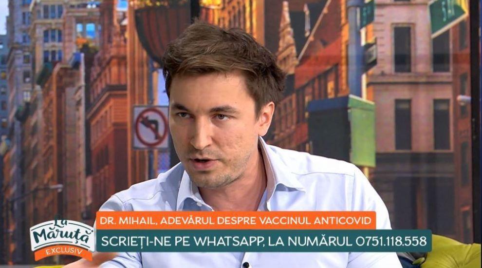 """Dr. Mihail Pautov, adevărul despre vaccinul anti-COVID: """"Dacă aș avea vaccinul în față, l-aș face acum"""""""