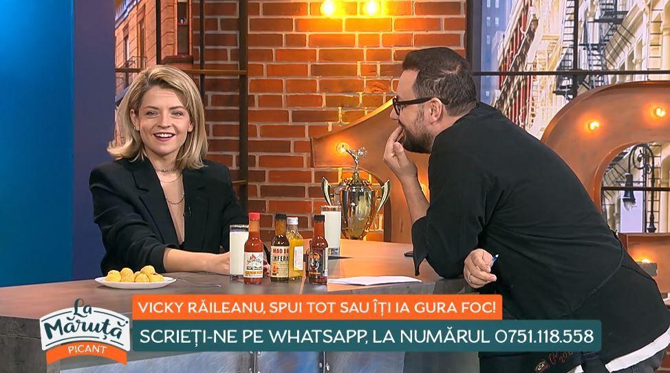 Victoria Raileanu a răspuns la cele mai picante întrebări, în emisiunea La Măruță