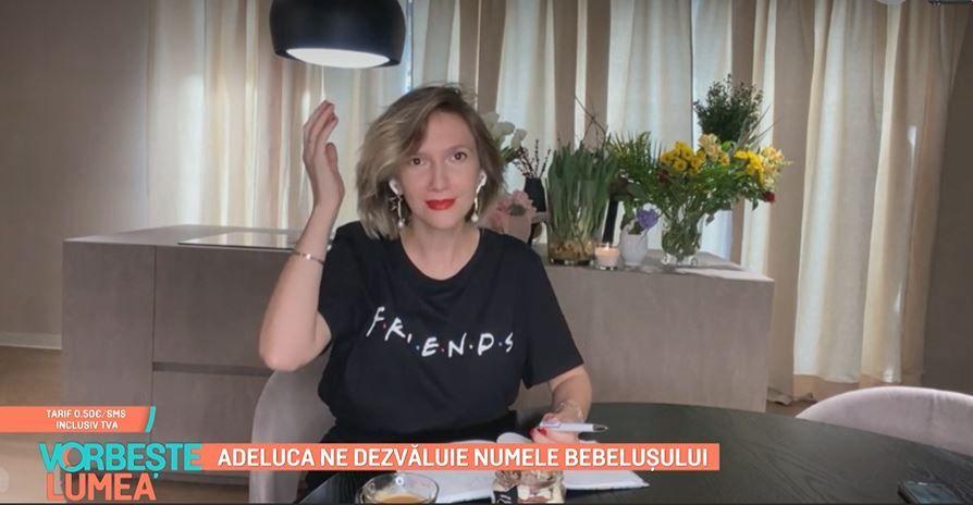 Adela Popescu a făcut top 3 nume de băieți pentru cel de-al treilea copil. Care sunt preferatele ei