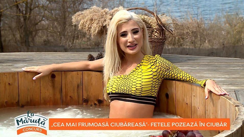 """Ce iubită sexy are Armin Nicoară. Artista Claudia Puican candidează la titlul de cea mai frumoasă """"ciubăreasă"""""""