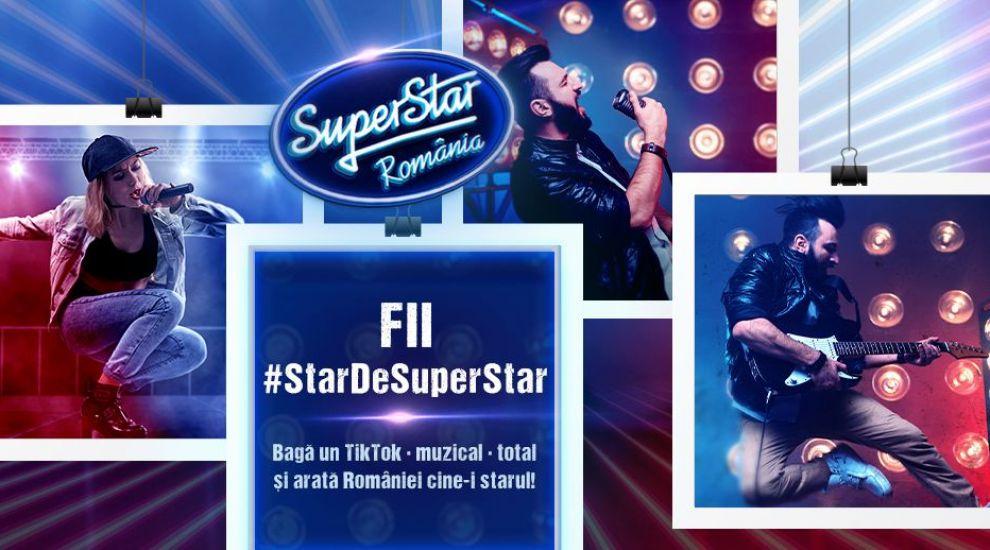 Fii #StarDeSuperStar! Acceptă provocarea și arată-ne ce poţi pe TikTok