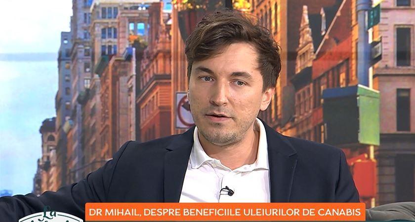 Dr. Mihail Pautov, despre beneficiile uleiurilor de canabis