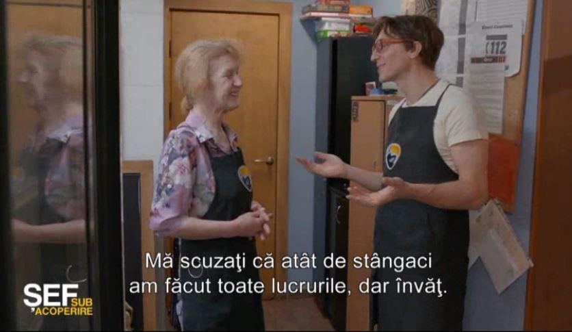 """Doamna Ala, angajata care l-a emoționat pe Ruslan Cojocaru cu povestea ei de viață: """"E un om extraordinar!"""""""
