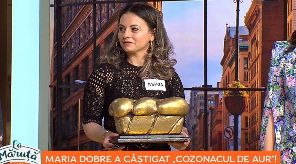 "Maria Dobre a câștigat trofeul ""Cozonacul de aur"""