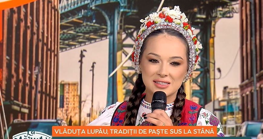 Vlăduța Lupău, tradiții de Paște sus la stână! Cum va petrece artista Sărbătorile Pascale