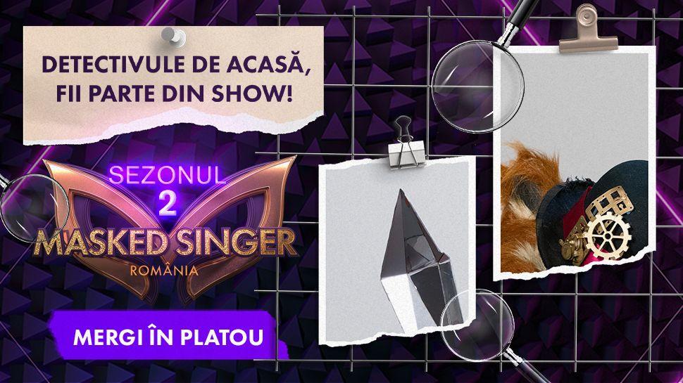 Înscrie-te în concursul Masked Singer România și poți fi parte din cel mai secretos show de televiziune