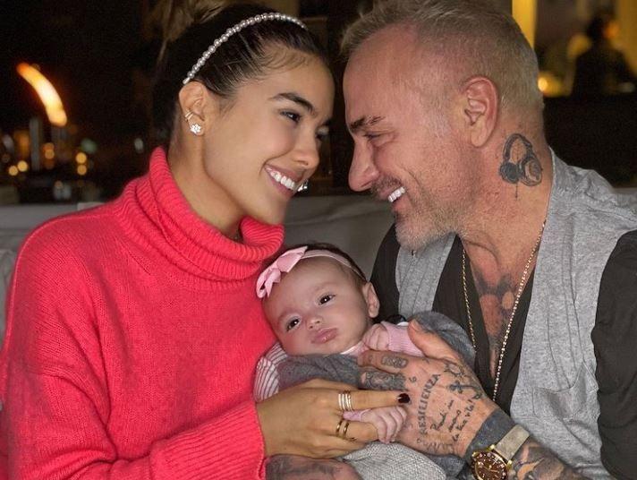 Un video cu fetița lui Gianluca Vacchi a adunat aproape 1 milion de like-uri. Cum a fost surprinsă Blu Jerusalema