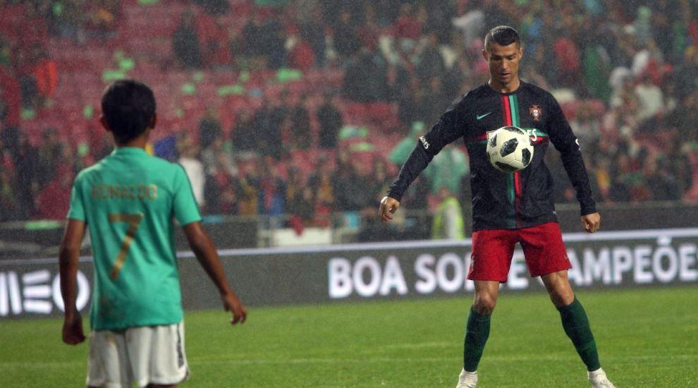 Cristiano Ronaldo, mesaj plin de duioșie pentru fiul său de 11 ani, Cristiano Jr