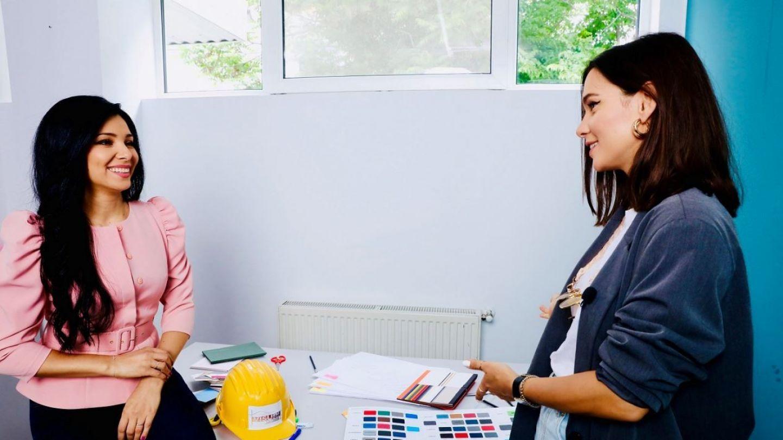 """VIDEO Laura Boghiu, sfaturi de amenajare pentru Corina Caragea: """"Așa poți da viață balconului"""""""