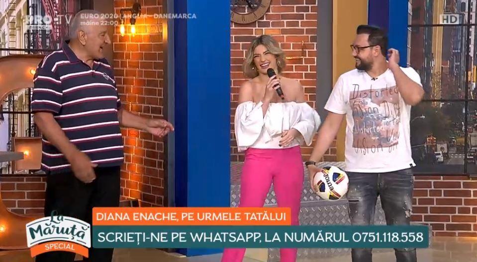"""Rică Răducanu, despre Diana Enache: """"Uite ce a ieșit din Adrian Enache"""""""