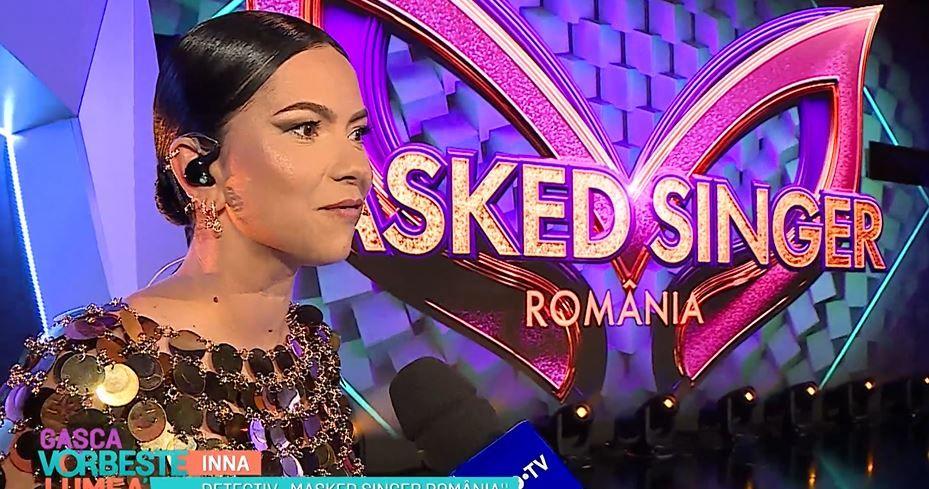 """Primele imagini din culisele Masked Singer România. Inna:""""Abia aștept să vadă cei de acasă ce am pregătit"""""""