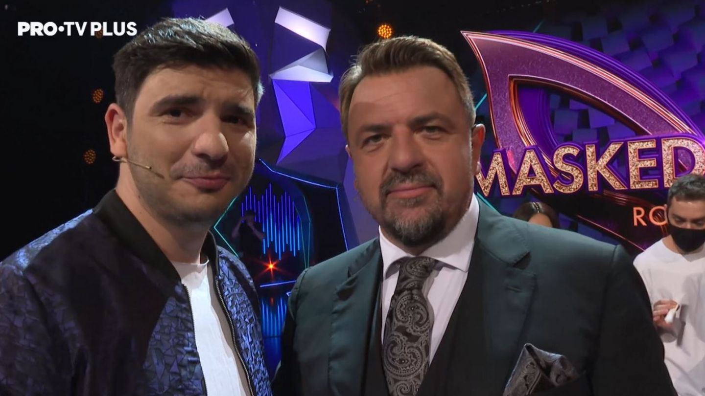 Momente din culisele show-ului Masked Singer România, cu Horia Brenciu și Alex Bogdan